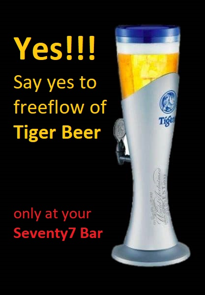tiger tower of beer