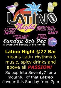 Latino Night main poster