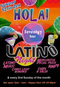 Latino Night 12 January 2020