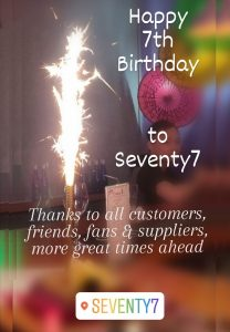 7th birthday blog